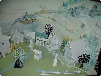 Все работы выполнены выпускниками художественной школы, возраст14-15 лет.  Дракон в технике квиллинг. фото 7