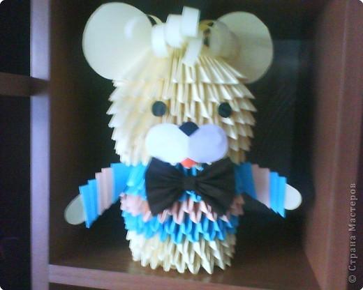модульное мишка Бумага