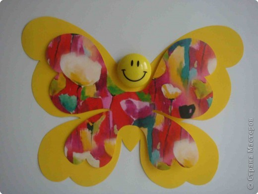 Делала образец бабочки и увлеклась.  фото 6