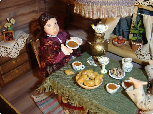 Куклы Лепка Чаепитие Глина фото 3
