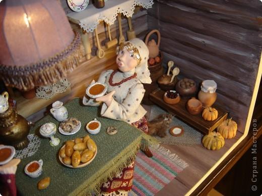 Куклы Лепка Чаепитие Глина фото 2