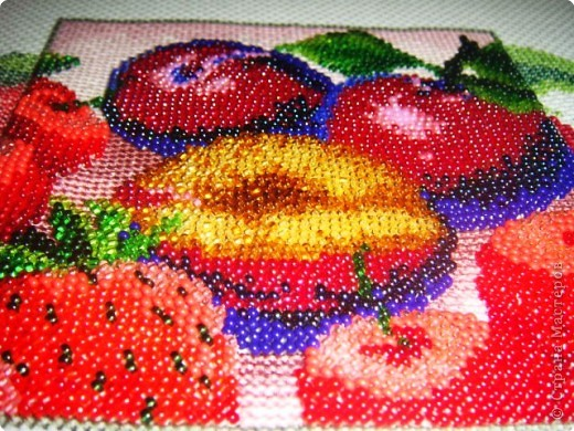 плетения картин бисером