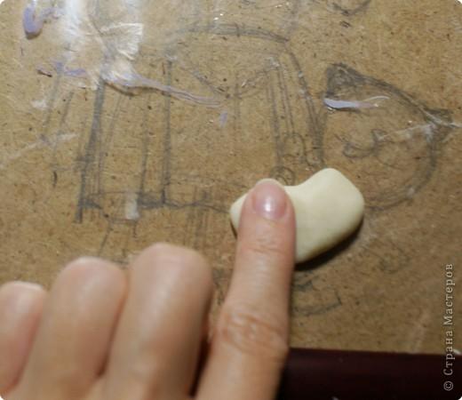 Картина панно рисунок Мастер-класс День рождения Лепка Повар с баранками и чаем Тесто соленое фото 11