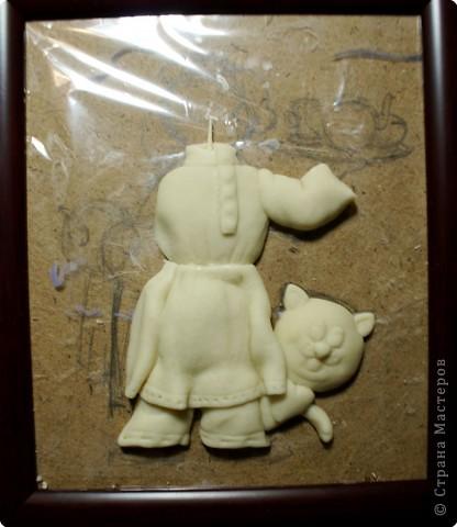 Картина панно рисунок Мастер-класс День рождения Лепка Повар с баранками и чаем Тесто соленое фото 24