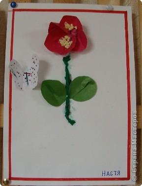 Вот такая выставка цветов встретила однажды мамочек. (в апреле :):):)) фото 3