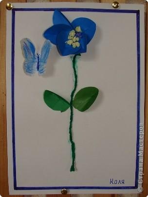 Вот такая выставка цветов встретила однажды мамочек. (в апреле :):):)) фото 2