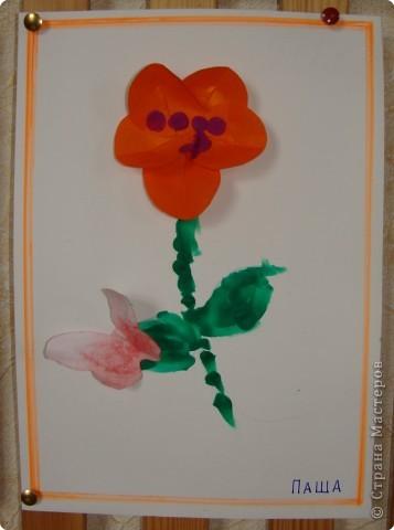 Вот такая выставка цветов встретила однажды мамочек. (в апреле :):):)) фото 12