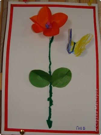 Вот такая выставка цветов встретила однажды мамочек. (в апреле :):):)) фото 5