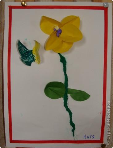 Вот такая выставка цветов встретила однажды мамочек. (в апреле :):):)) фото 7