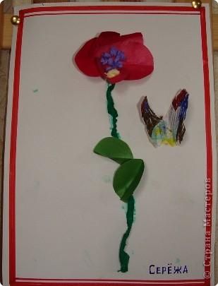 Вот такая выставка цветов встретила однажды мамочек. (в апреле :):):)) фото 11