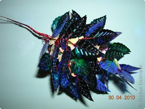 Цветы Из Паеток Схемы