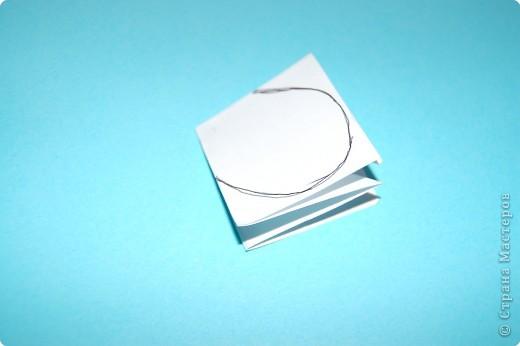 Оригами: жучек-божья коровка. фото 3