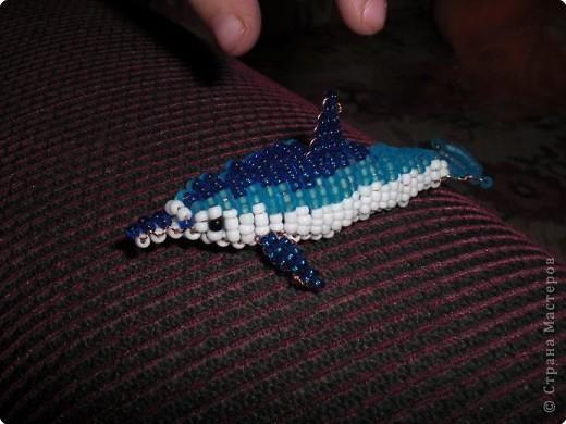 Бисероплетение дельфин схемы.