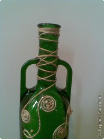 Обычная бутылка стала декоративной. фото 2