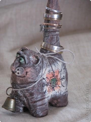 Подставка для колец в форме кошки умножит ваше богатство.Кошка - символ богатства и счастья. На шее у нее небольшой колокольчик, звон которого позовет в ваш дом денежный успех.  фото 4