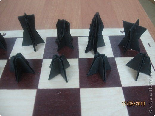 Шахматные фигуры из бумаги - Всё о фигуре здесь