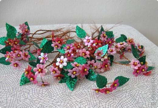 Бисероплетение цветущее дерево