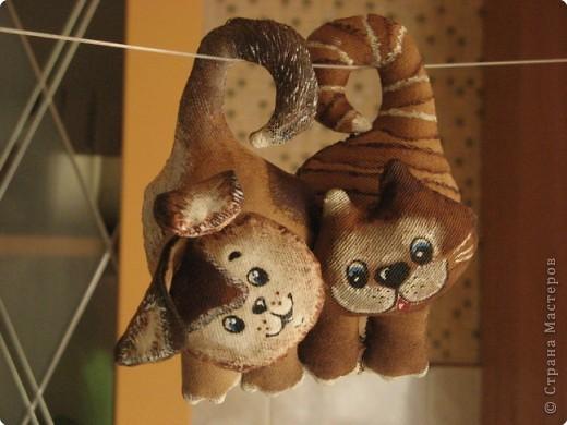 Поскольку первый котин друг  https://stranamasterov.ru/node/73403 подарился, то стало коте еще грустнее.., потому пришлось сделать ему другого товарища. фото 5