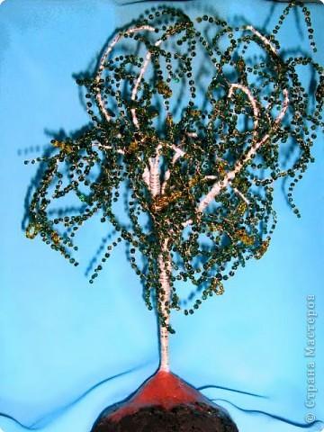 Это мое первое дерево из бисера.