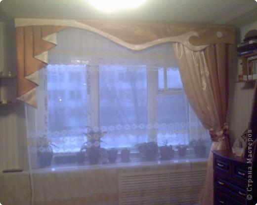 Техника: Шитьё 1. такие шторы я сшила для себя любимой) 2. Извините за качество фото.