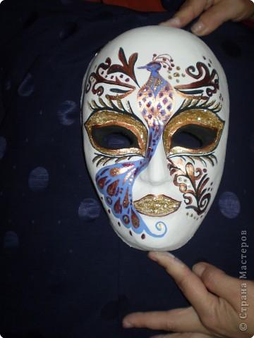 Папье-маше своими руками маска фото