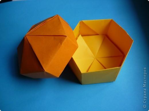 год Оригами Коробочка