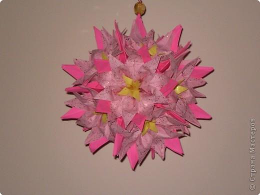 Кусудама Оригами Vallota by Tanya Vysochina Бумага фото 1