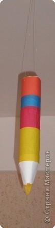 Аппликация: Подвески -  карандаши фото 2
