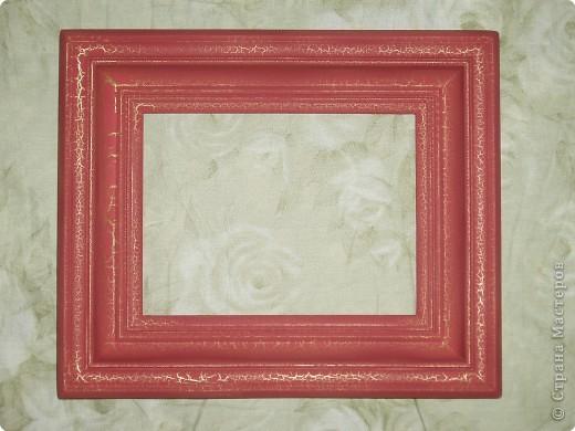 Рамка для будущей картины, которую нарисует муж. Обещался, когда будет красивая рамка, тогда и творить начнет... фото 1