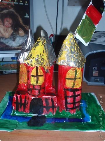 Поделки для мальчиков Макет модель замок для Шрека Бумага фото 4.