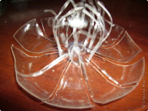 Мастер-класс Вырезание Цветы из пластиковой бутылки МК Материал бросовый фото 5.