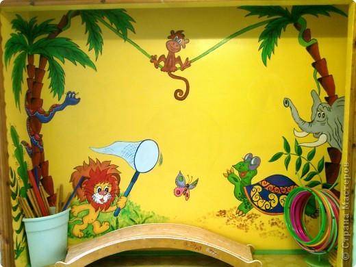 Варианты раскраски стен