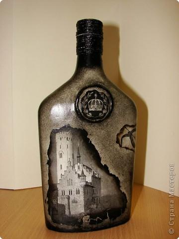 Рисунки на бутылках для мужчин