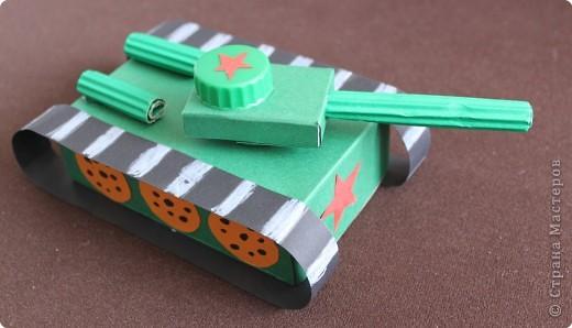 Поделки из бумаги своими руками танки