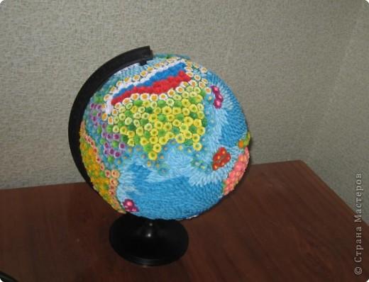 Поделка глобус своими руками
