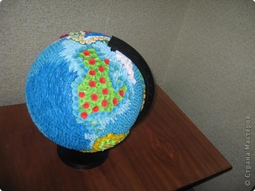 Земной шар своими руками для детей