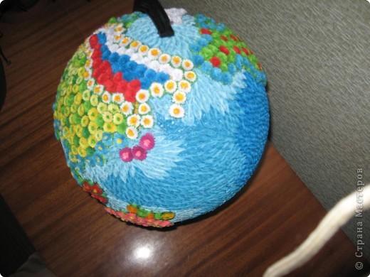 Поделки своими руками земной шар