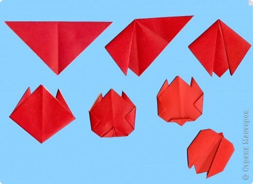 Насекомые оригами для детей схемы