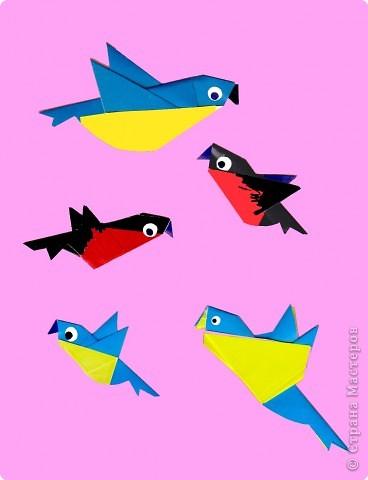 Оригами. Птицы. Занятие 16.