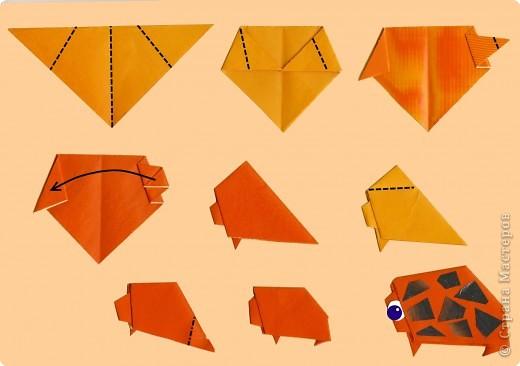 """Продолжаем знакомство с базовой формой """"треугольник"""". фото 7"""