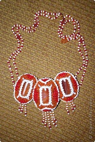 Шитьё: Вышивка бисером и камнем - огонь