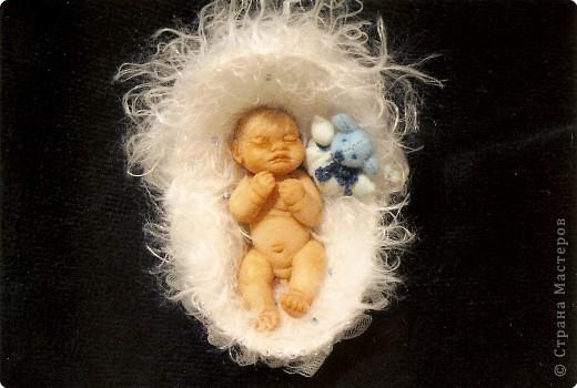 Куклы из полимерной глины.