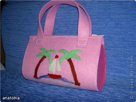 Яркая детская сумочка из фетра - Сеть женских советов. армянские песни скачать. Как сшить сумку из фетра Фотоуроки и