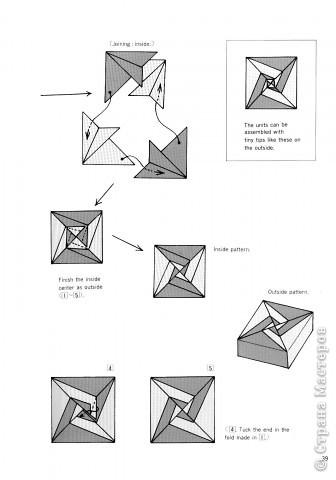 Схемы для изготовления подарочной коробочки из бумаги.