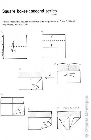 Схемы для изготовления