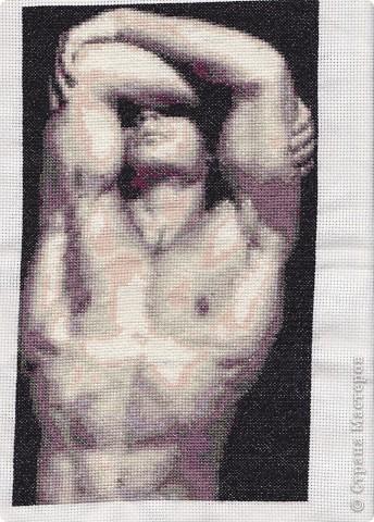 крестом Вышивка-Мужчина