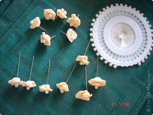 Решила поделиться с вами процессом изготовления свадебных свечей. Может кто подскажет другую технику выполнения, так как эта выбрана излюбленным русским способом - методом тыка! фото 4