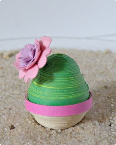 Квиллинг: Коллекция кактусов фото 10