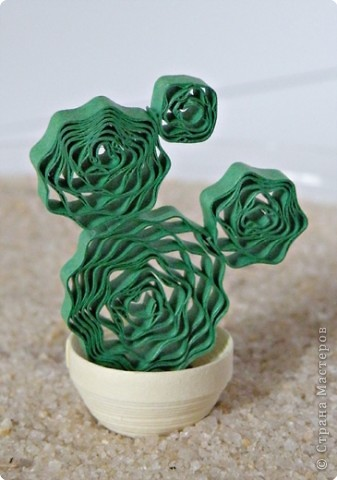 Квиллинг: Коллекция кактусов фото 11