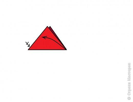 Берём квадрат и делаем базовою форму ТРЕУГОЛЬНИК. фото 2